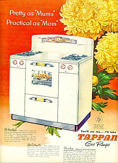 Tappan Gas ranges ad 1950 (Image1)