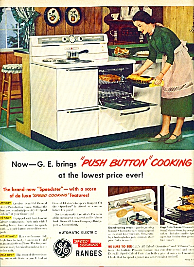 General Electric electric ranges ad 1950 (Image1)