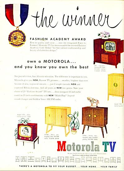 Motorola TV ad 1950 (Image1)