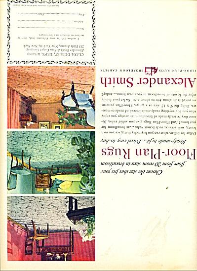 Alexander Smith carpets ad 1950 (Image1)