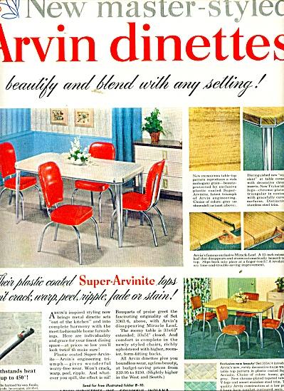 Arvin dinettes ad 1950 (Image1)