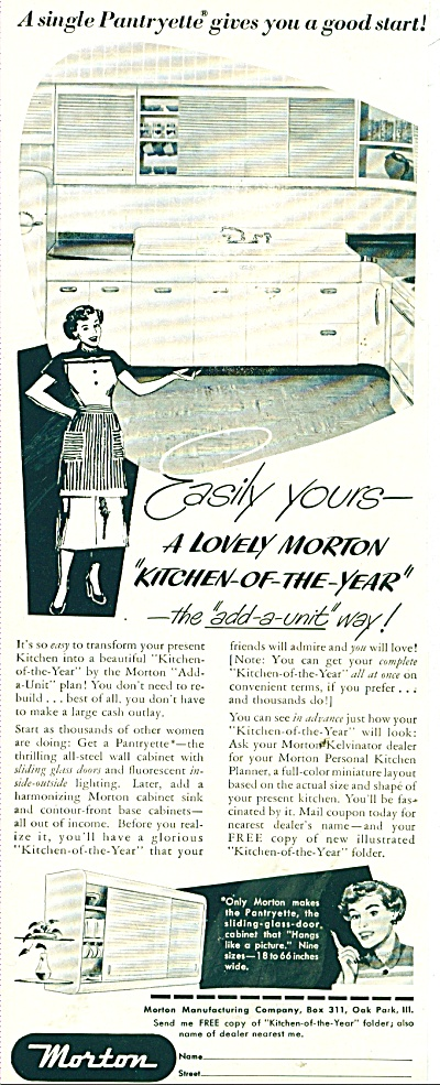 Morton Kitchens ad 1950 (Image1)