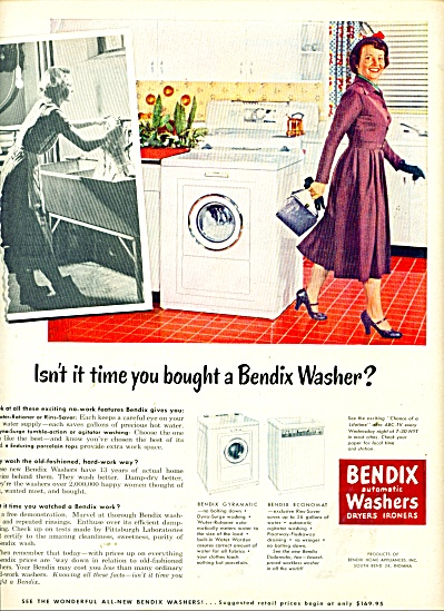 Bendix automatic washers dryers ironers ad (Image1)