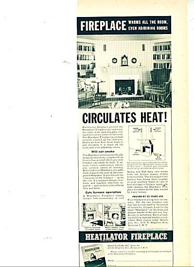 Heatilator fireplace ad 1950 (Image1)