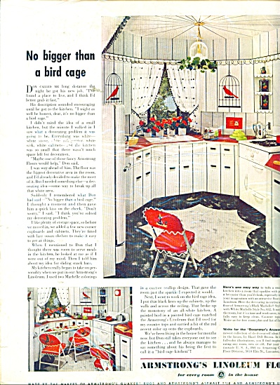Armstrong Linoleum floors ad 1950 (Image1)