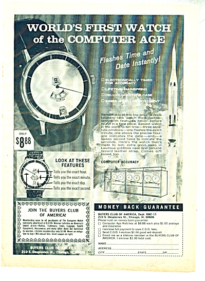 Buyers club of America - Watch of computer ag (Image1)