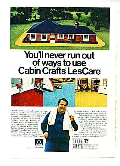 Cabin Crafts Carpet - Les Care Carpet - ad (Image1)