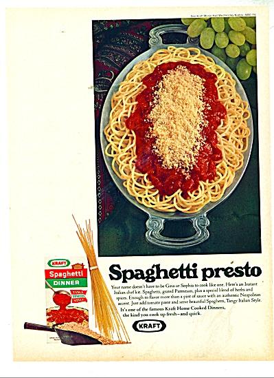 Spaghetti Presto- Kraft ad 1970 (Image1)