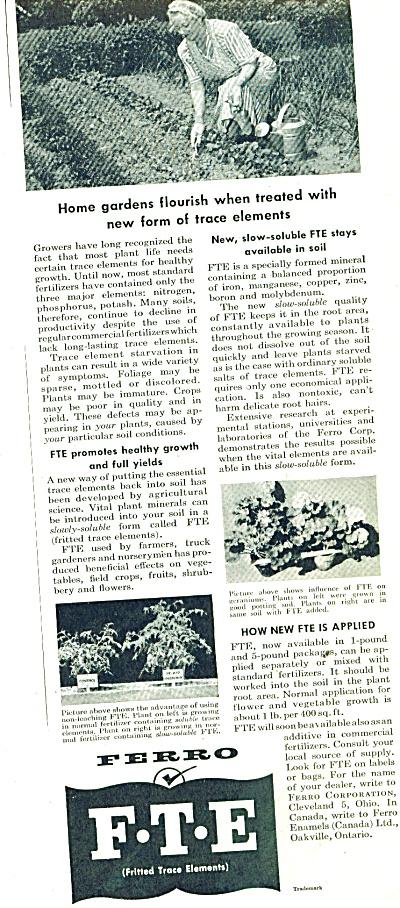 F - T = E -   Ferro trace elements ad 1953 (Image1)