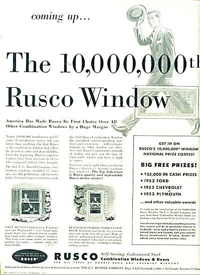 Rusco Steel windows and doors ad 1953 (Image1)