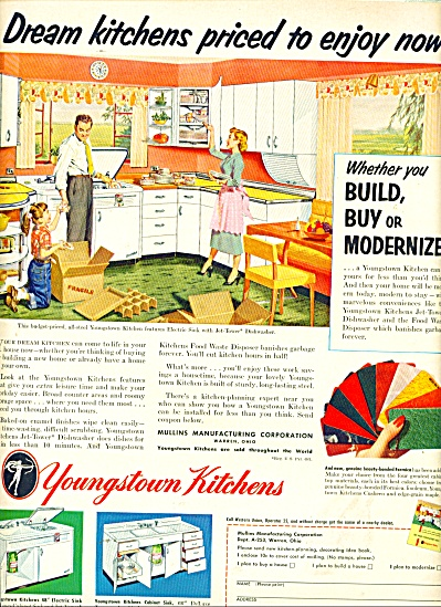 Youngstown Kitchens ad 1953 (Image1)