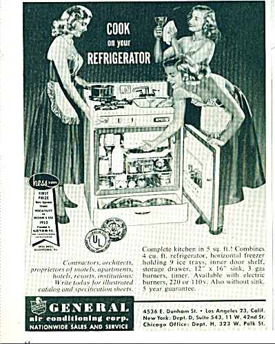 General air conditioning Corp.   ad 1953 (Image1)
