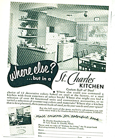 St. Charles Kitchen ad 1953 (Image1)