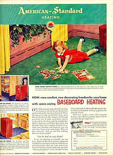 American Standard heating ad 1953 (Image1)