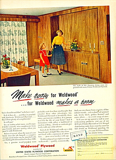 Weldwood Plywood ad 1953 (Image1)