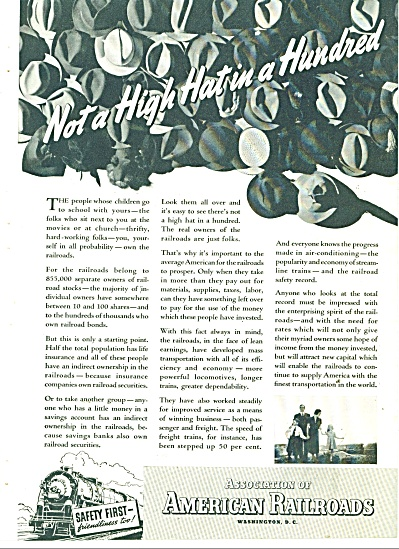 1938 American Railroads association ad (Image1)