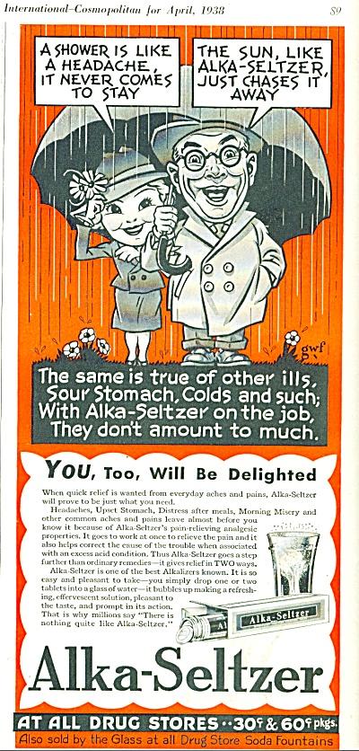 Alka Seltzer ad 1938 (Image1)