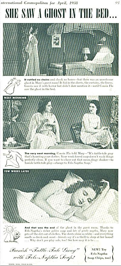 Fels Naptha  soap chips ad 1958 (Image1)