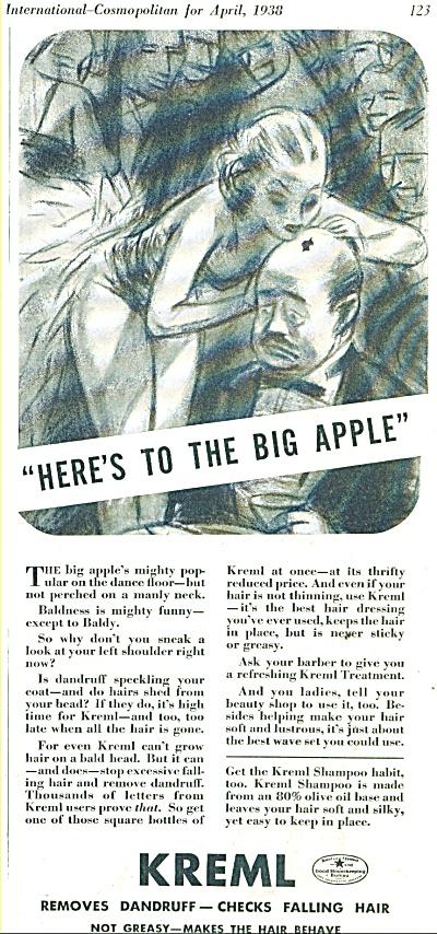 Kreml shampoo ad 1938 (Image1)