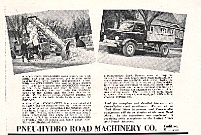 1948 Pneu-Hydro Road Snow Loader AD (Image1)