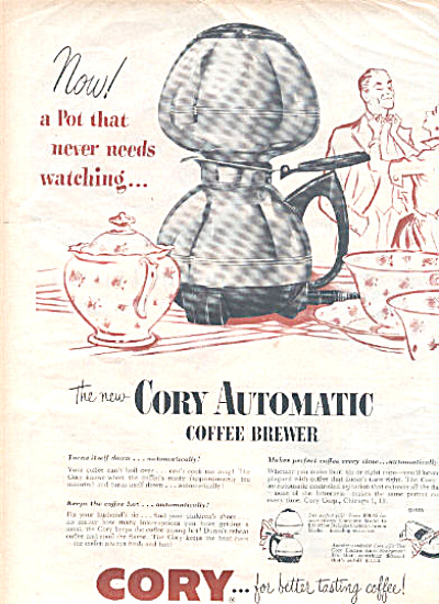 1950 Cory automatic Coffee brewer ad (Image1)