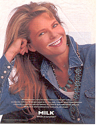 1995 Have You ever seen a model Got Milk? Ad (Image1)