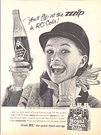 1965 Sweet, Sparkling Royal Crown(RC) Soda Ad (Image1)