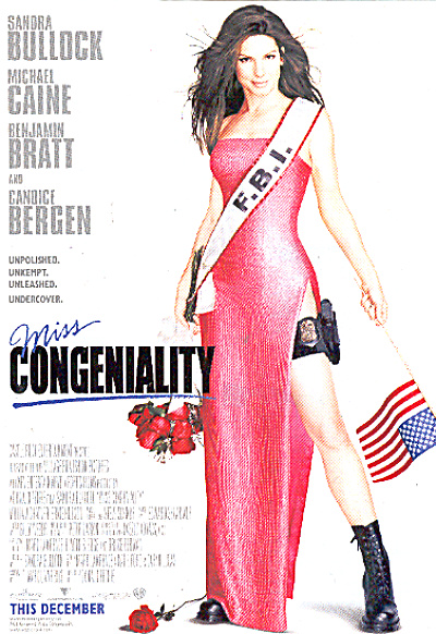 2001 Miss Congeniality movie Ad (Image1)