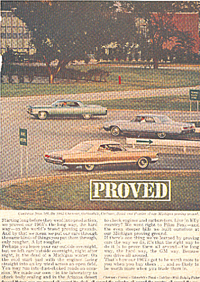 1964 General motors cars  ad (Image1)