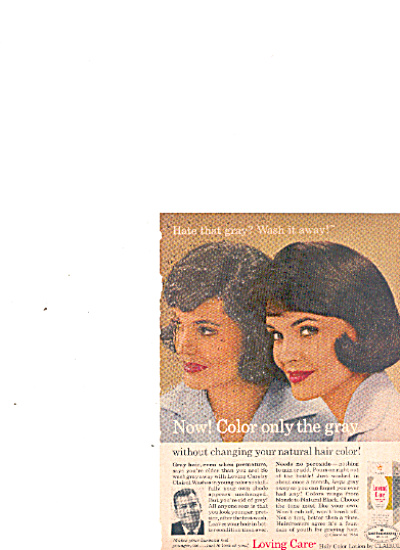 1964 Loving care hair care lotion by clairol (Image1)