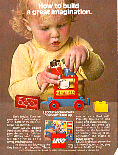 1977 Lego preschool sets for 18 months and up (Image1)