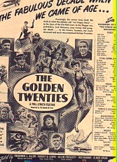 Golden Twenties Jazz Age Movie Ad (Image1)