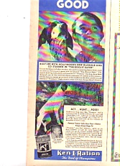 1940 Dog Gone Good Ken-L-Ration Billy Lee Ad (Image1)