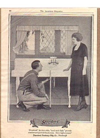 1922  Standard Plumbing Fixtures Ad SIP (Image1)