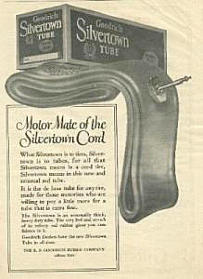1922 B. F. Goodrich Silvertown Tire Tube AD (Image1)