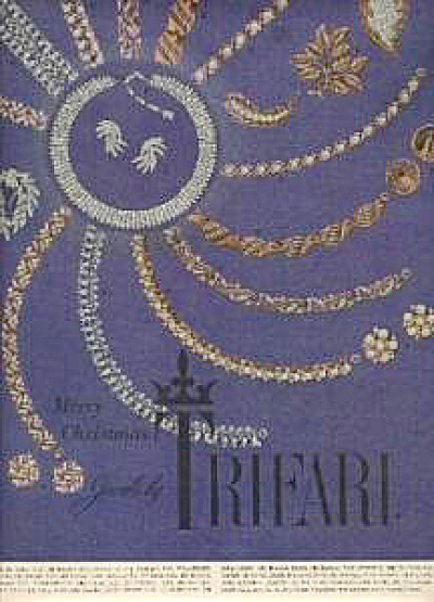 1966 Trifari Jewels Jewelry Christmas AD (Image1)