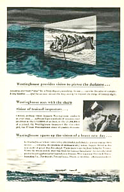 1943 Navy Westinghouse Night vision AD (Image1)