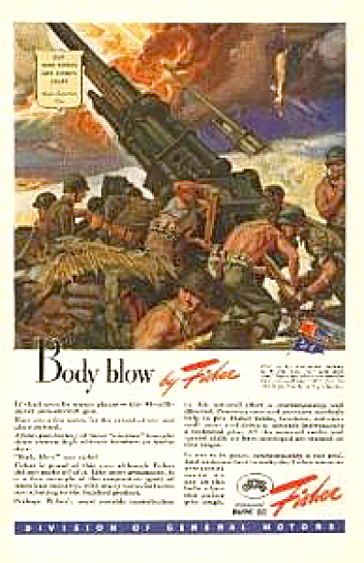 1943 Body Blow Anti Aircraft Gun Fisher AD (Image1)