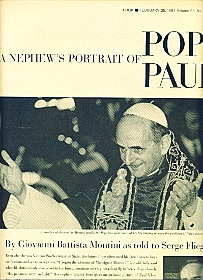 1964 -  POPE PAUL  history and family story (Image1)