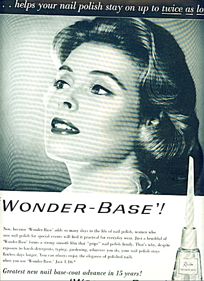 1958 - Revlon Wonder base ad (Image1)