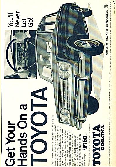 1967 - Toyota automobile ad (Image1)