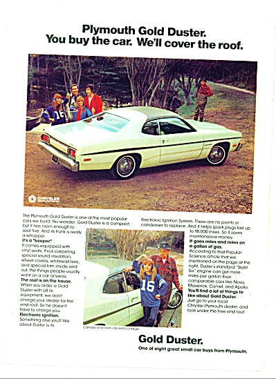 1974 -  Plymouth Gold Duster auto 1974 (Image1)