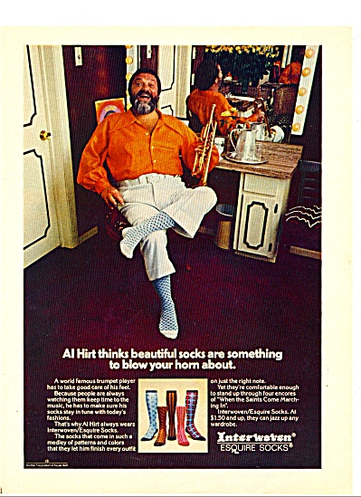 1974 -  Interwoven esquire socks - AL HIRT (Image1)