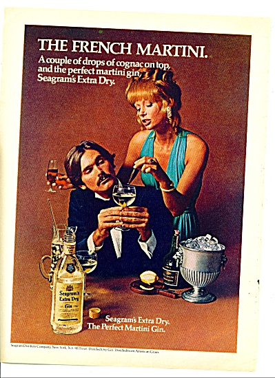1974 - Seagram's extra dry gin ad (Image1)