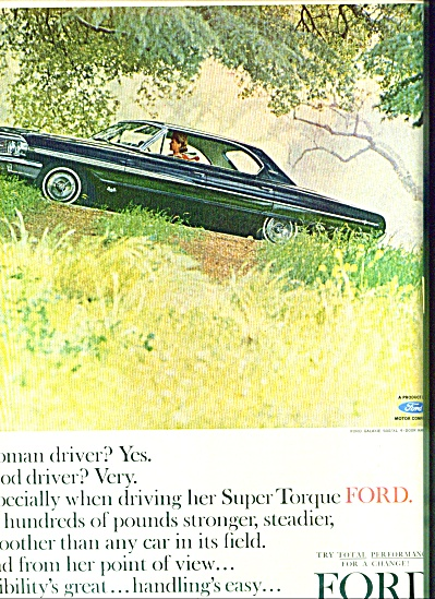 1963 - Ford Motor Auto - 1963