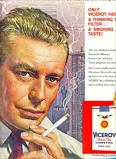 1959 -  Viceroy cigarettes ad (Image1)