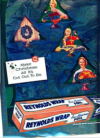 1955 -  Reynolds Wrap foil ad (Image1)
