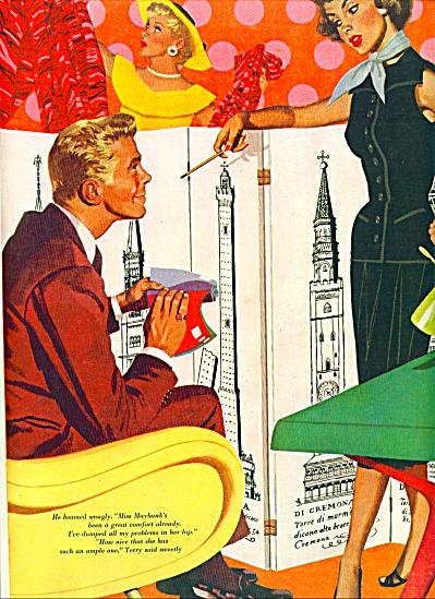 1955 -  Artist sketch -  JON WHITCOMB (Image1)