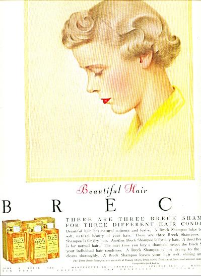 1955 - Breck shampoos ad (Image1)