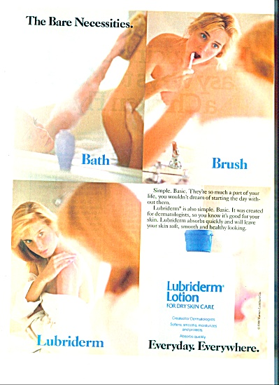 1988 -  Lubriderm lotion ad (Image1)